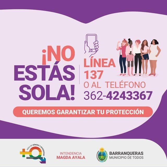 Banner Gobierno No estas sola